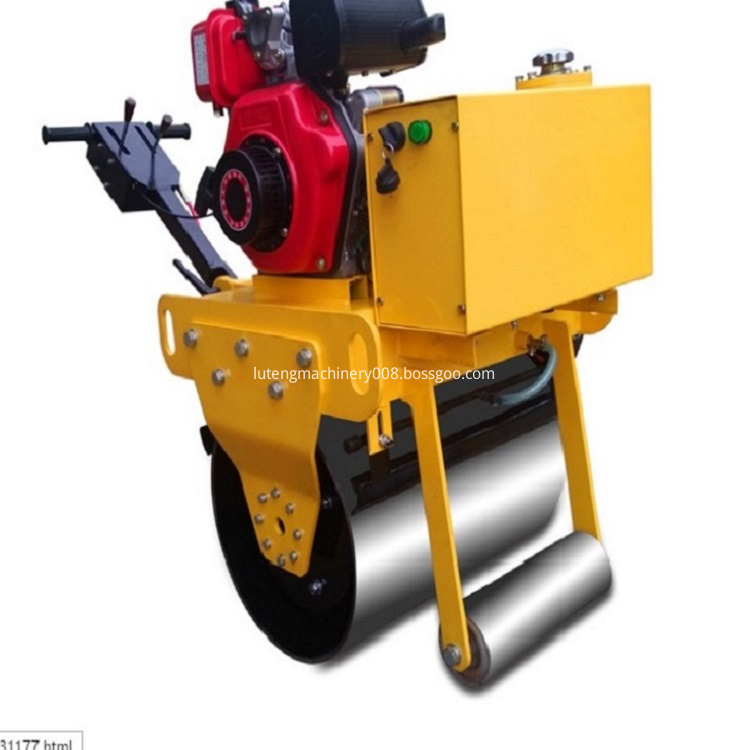 Hand on single wheel roller
