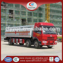 JAW leche transportista camión remolque camión cisterna para la venta