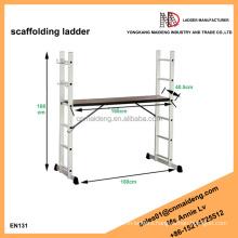Mini Aluminium scaffolding ladder with multi function use