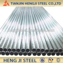 Tubulação de aço galvanizado