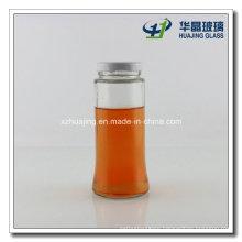 180ml 6oz Screw Top Round Sauce Glass Jar