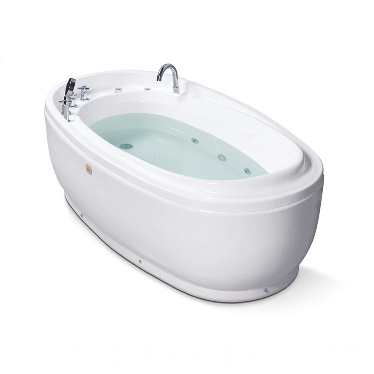 Ellipse Indoor Freestanding Acrylic Bathtub