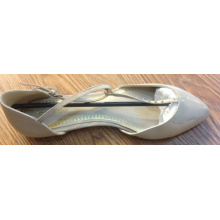 Newest Woman Flat Shoes with Rivets (NF055)