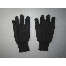 8oz Black Jersey Liner Cotton Work Glove