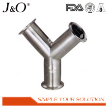 Sanitary Stainless Steel Y Elbow Clamp Tube Pipe Fittings