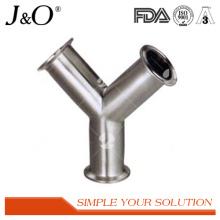 Acessórios de tubulação de tubo de pressão de aço inoxidável Sanitary Stainless