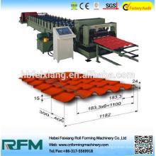 Máquina de formação de rolo de telha glandeada da China para estrutura