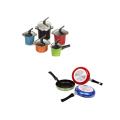 Máquina automática de pintura en color para utensilios de cocina de aluminio
