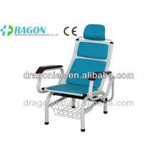 DW-MC104 sillas de lujo para silla de diálisis de hospital de transfusión