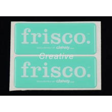 Epoxy Dome Stickers Printed Self Adhesive Labels , 3D Resin