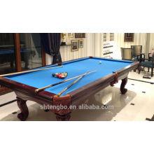 Table de billard en bois massif billard table jeu intérieur tables pliantes