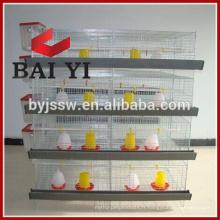 Cage galvanisée soudée de petit poulet de fil pour la Californie