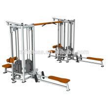 O equipamento de Gym quente QUENTE de 5 estações multi / integrou o equipamento do instrutor do Gym