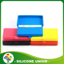 Promotional cheap silicone business card case /card holder