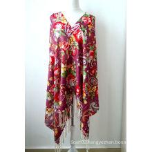 Wool Printed Shawl (12-BR020302-3)