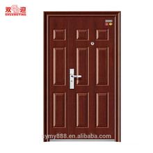 One and half fireproof door customized fire rated framed doors