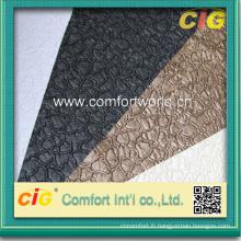 Cuir de PVC pour le sofa et la couverture de siège de voiture