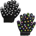 Texting Gloves Black Smart Phone Iphone TouchScreen Thermal Gloves