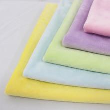 Soft Short Plush Fabric Plush Velvet Knit Fabric