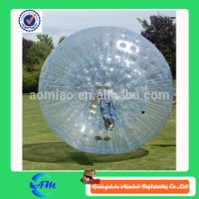 Bola inflable de la burbuja de la bola gigante de la bola del zorb para la bola de la burbuja de la alta calidad TPU de los adultos para la venta