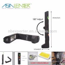 Азия Лидер Продукты BT-4800 0.5W + 10SMD Складные светодиодные рабочие огни