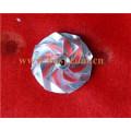 T04e Roda Compressor Billet Turbo 442476-0011 Design Alto Desempenho CNC Machined Roda Alumínio T3 T4 Turbo 442476-11