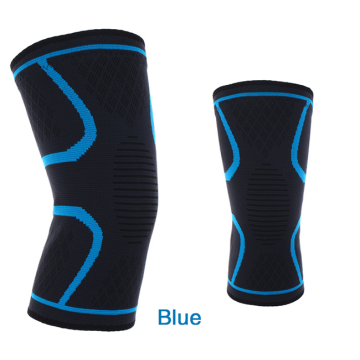 Olahraga Kompresi Knitting Knee Brace