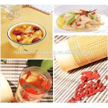 Valeur médicale, comestible et saine des baies de Goji séchées au Ningxia, vine du mariage chinois, nèfle rouge, Wolfberry chinois, Gouqizi