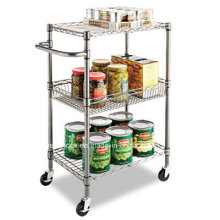 Restaurant Hotel Metal Catering Trolley (BK244836A3CW)