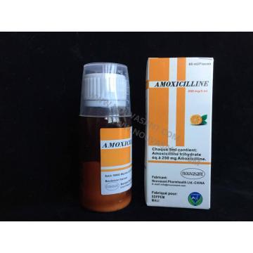 Amoxicilina suspensión oral 250mg / 5ml, 100ml