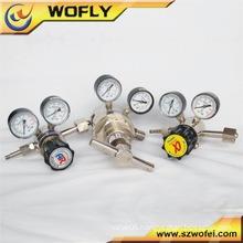 High pressure regulator oxygen regulator valve