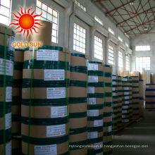 100% de bois pulpe bois recouvert de papier libre 80gsm en bobine