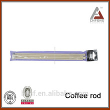 top design coffee rod, flexible shower curtain rod, spring telescopic coffee rod