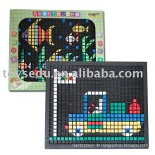 Pädagogisches Spielzeug Plastikspielzeug 3D-Puzzle