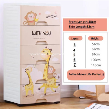 Plastic Home Storage Stackable Freely Combination Drawer