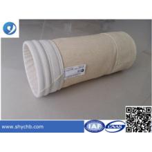 Bolsa de filtro de polvo de Nomex / Polyester de la colección de polvo de la planta de acero