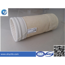 Sac filtre à poussière de haute qualité pour l'industrie du ciment
