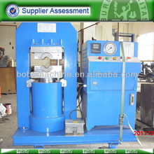 Hydraulic steel wire rope press machine