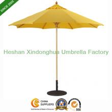 Parapluie en bois de Patio marché 9 pieds pour Hotel (WU-R0827)