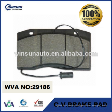 29186 29074 29075 Iveco truck disc brake pad 42535773 42535775 42536300 42536301 93161314