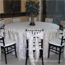 Pano de tabela do Jacquard de casamento