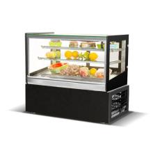 Equipo de panadería expositor comercial para pasteles refrigerador 900mm