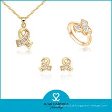 O OEM aceitou o projeto de conjunto de jóias de prata Premium (J-0061)