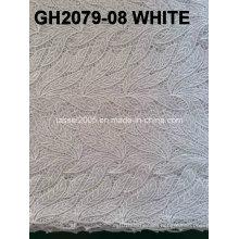 Unique Leaf Design Textile Peach Guipure Lace Fabric/ 2015 Latest Cupion Embroidery Lace/ Cord Lace Fabric for Nigerian Wedding