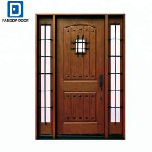 Fangda Rustic Mahogany Type Prehung Front Door