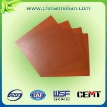 380 Materiales de aislamiento de chapa laminada de tela