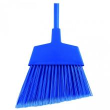 plastic soft angle broom with flagged bristle