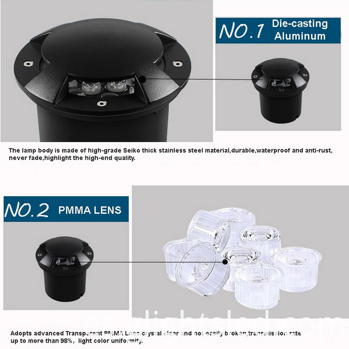 IP65 underground light led