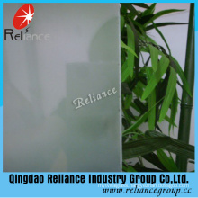 3mm to 12mm Clear Acid Etched Glass