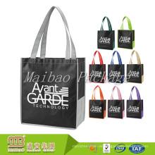 Eco freundliche erstklassige Qualitäts-Gewohnheit personifizierte Logo-AZO freie nichtgewebte Einkaufstasche Guangzhou